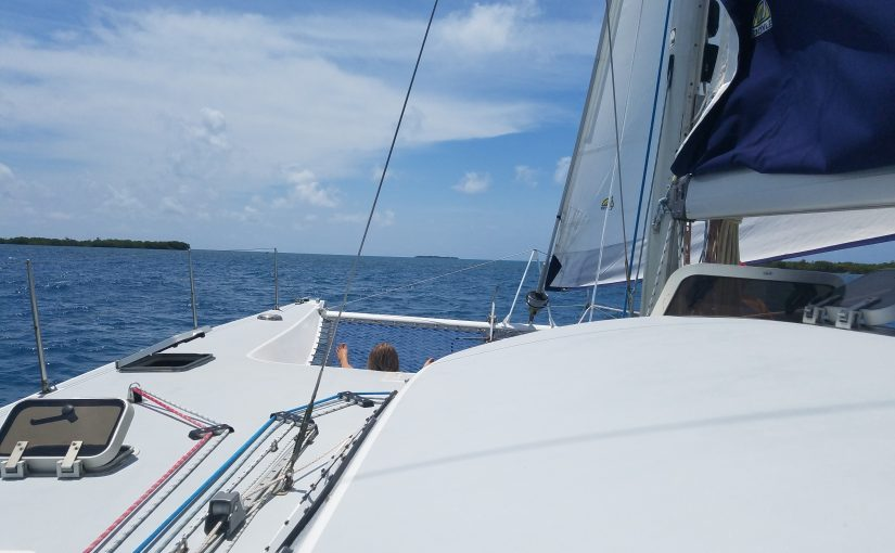 Sailing with the family today.